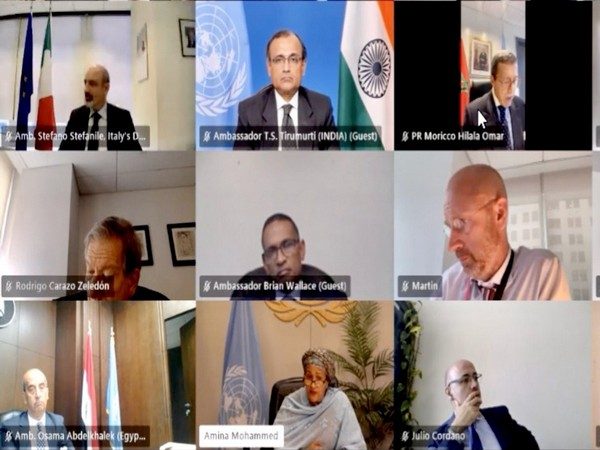Tirumurti briefs Climate Advisory Group about India's Disaster Resilient Infrastructure initiatives in Sudan, Mauritius