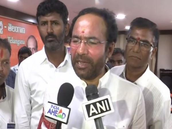 AIMIM refusing to celebrate Telangana Liberation Day, says G Kishan Reddy