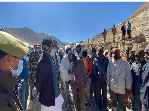 China constructing road at border area in Leh, India should also build one: G Kishan Reddy to road workers