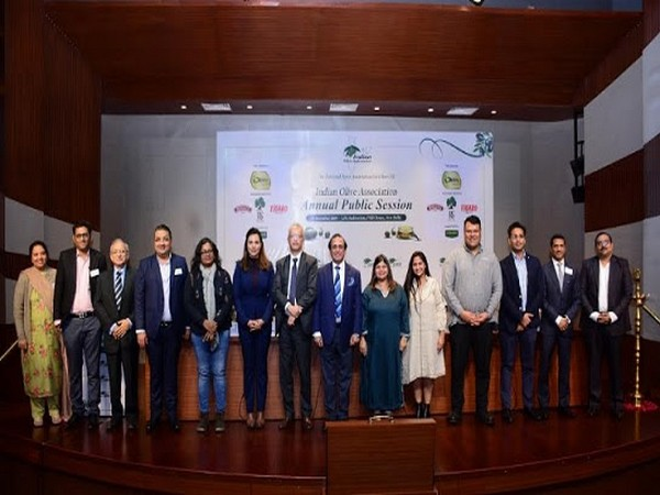 Olive oil for India - Indian Olive Association's annual event