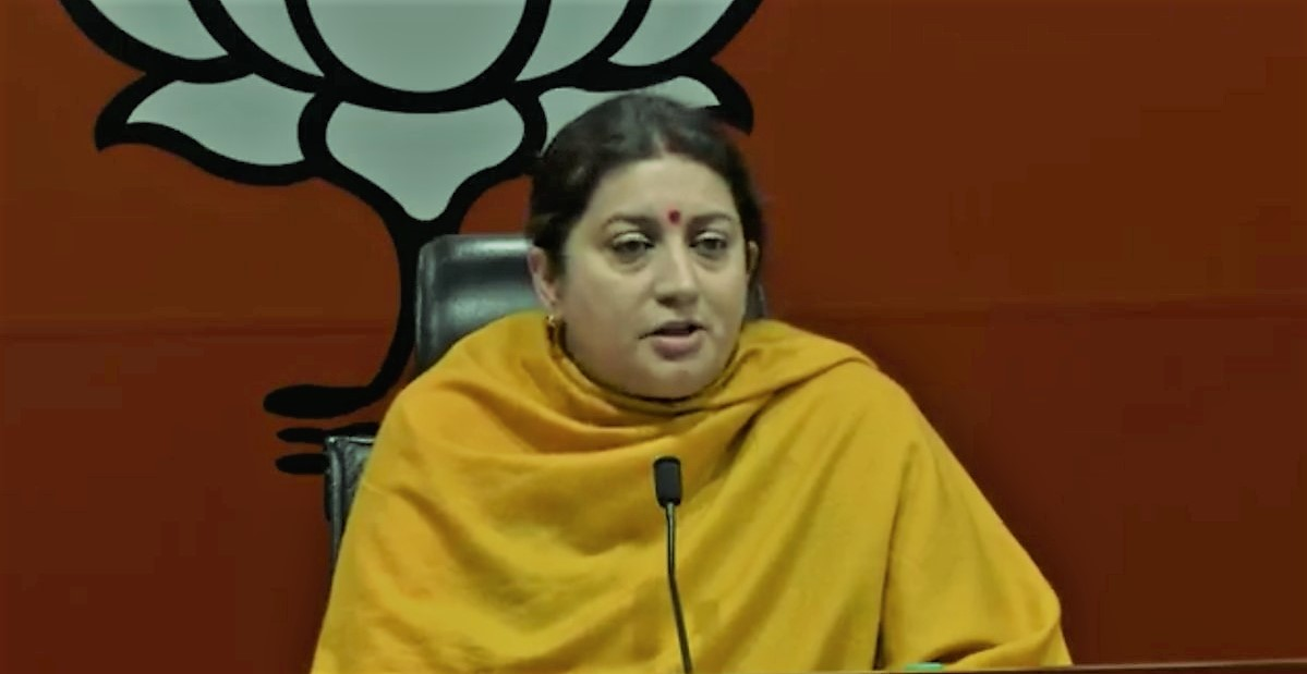 Irani slams Rahul over Assam tea workers wage-hike remark