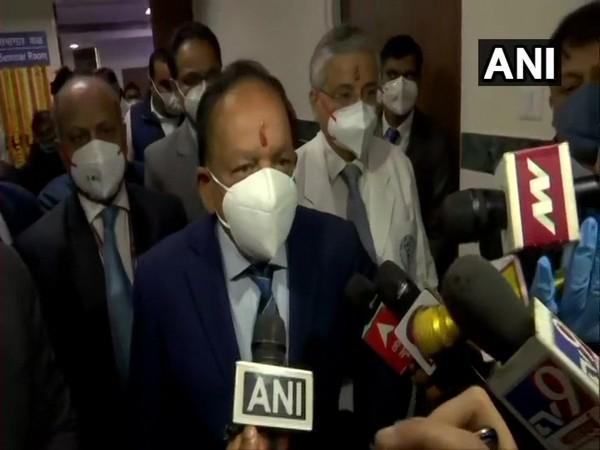 Harsh Vardhan inaugurates Burn and Plastic Surgery block at AIIMS, Delhi