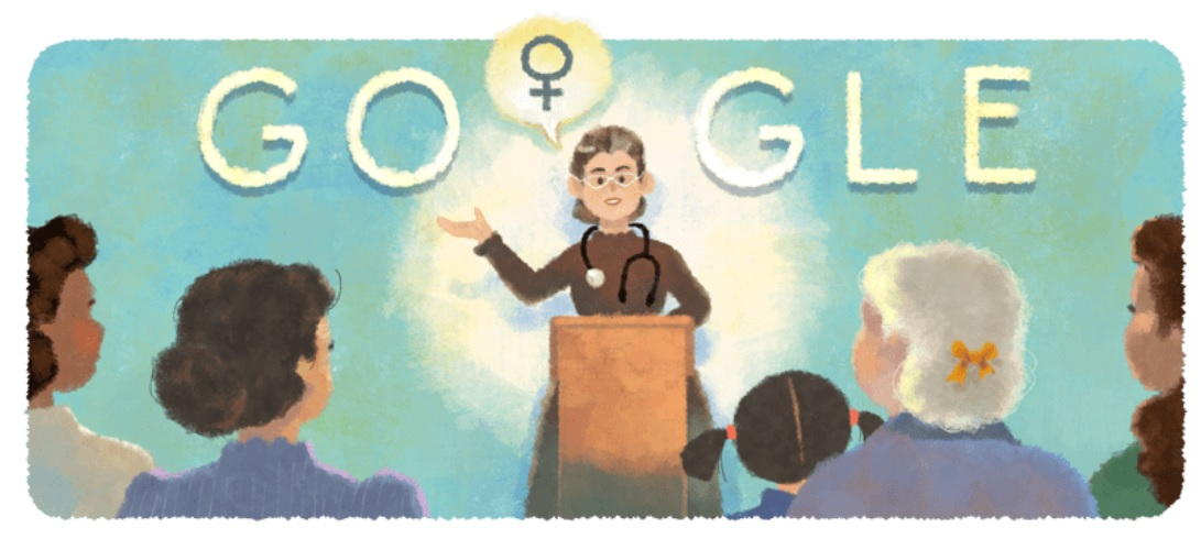 Petrona Eyle – Google pays tribute to Argentine doctor & feminist on 155th birthday