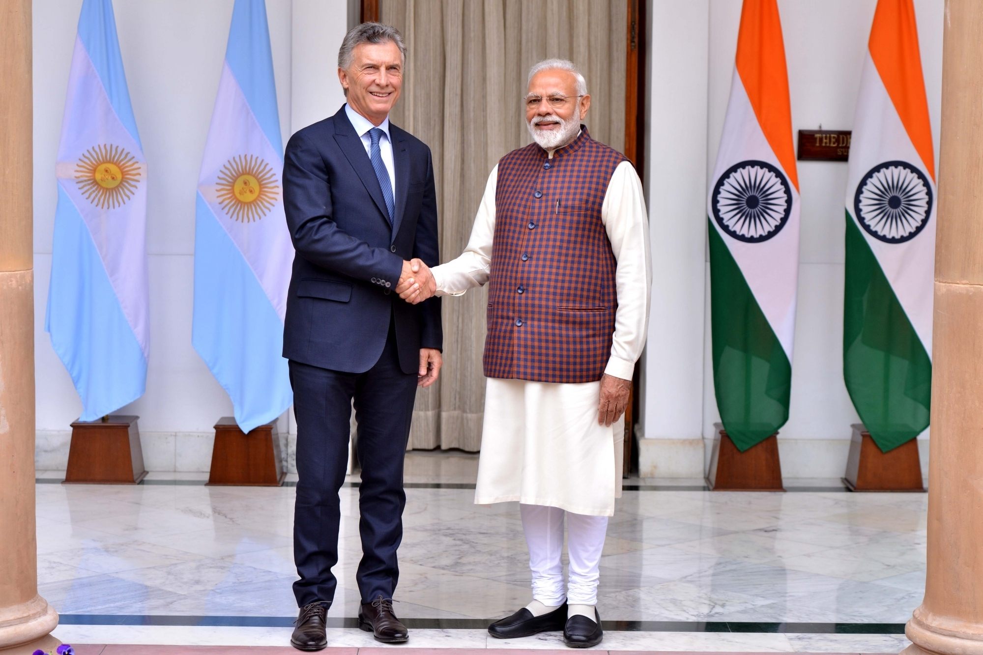 India-Argentina noted need to take action against terrorism