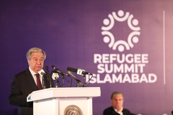Pakistan's solidarity for hosting Afghan refugees remarkable blueprint: UN chief