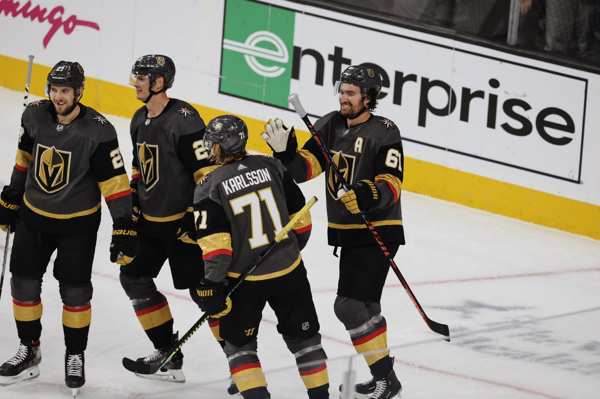 Knights hold off Caps to earn 3rd straight win