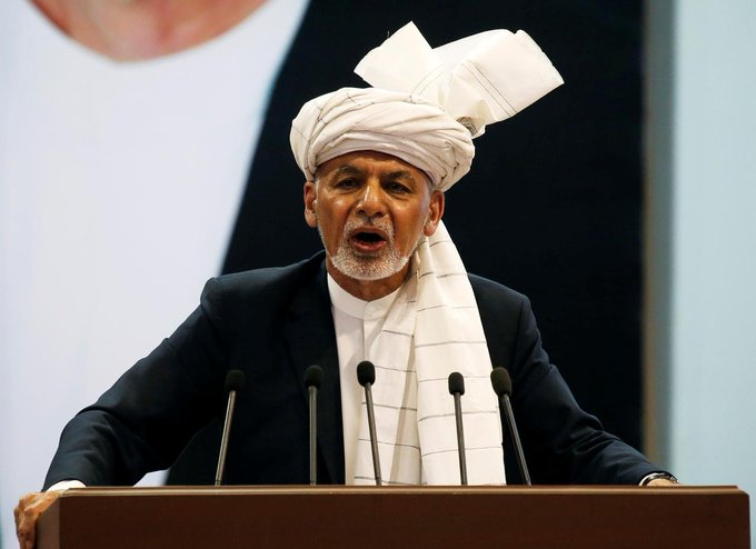 UPDATE 3-Ghani named winner of disputed Afghan poll, rival also claims victory