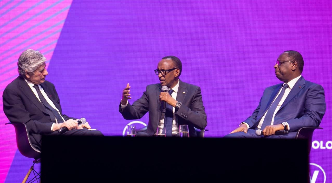 VivaTech in Paris: Paul Kagame elaborates how digitization is driving Rwanda's progress