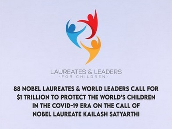 88 Nobel laureates and world leaders call for  USD 1 trillion to protect the world's children in the COVID-19 era
