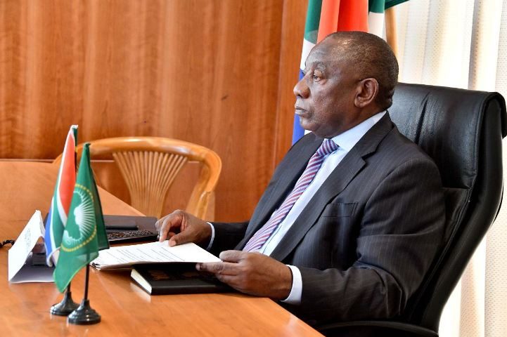 President Ramaphosa to participate in AU virtual meeting on Libya