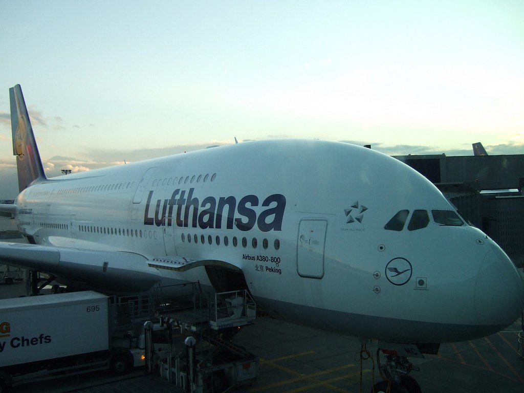 Lufthansa operates special flight to take German nationals back