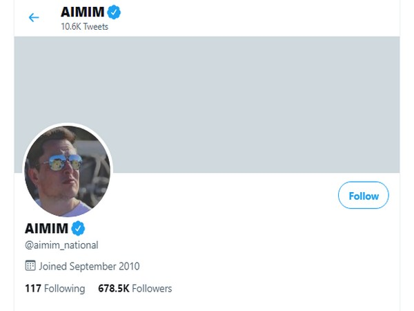 AIMIM's official Twitter handle hacked, name changed to Elon Musk; restored hours later