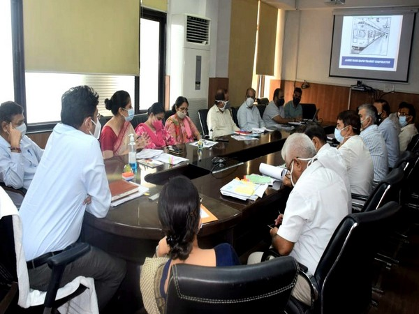 DPR prepared for Metrolite in Jammu city reviewed by Divisional Commissioner