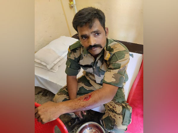 BSF soldier got injured in clash with Bangladeshi thieves in Nadia