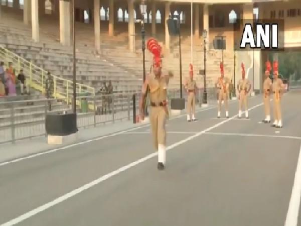 Amritsar: BSF's beating retreat ceremony resumes at Attari-Wagah border