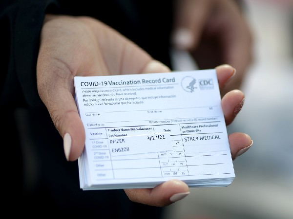 US Customs and Border Protection seize fake COVID vaccine cards shipped from China