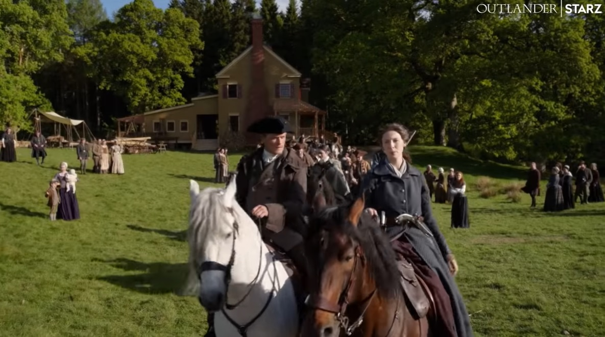Outlander Season 5 gets new trailer, Jamie, Claire on different horses, Keith talks on Lesley's death