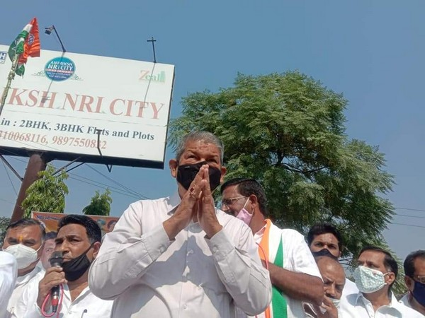 300 Congress members including Harish Rawat booked for holding rally in Haridwar