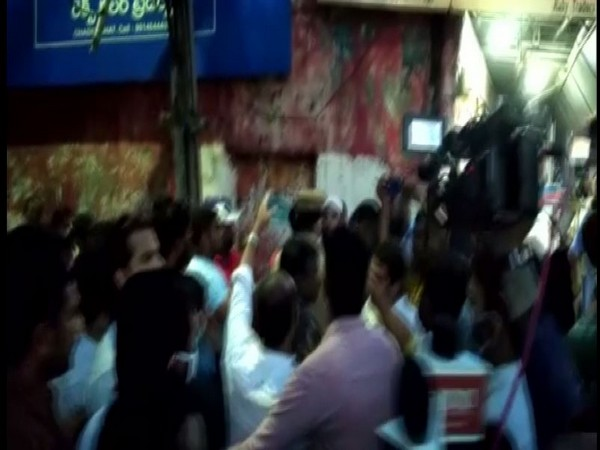 AIMIM and Congress workers clash during their visit to flood-affected area in Hyderabad