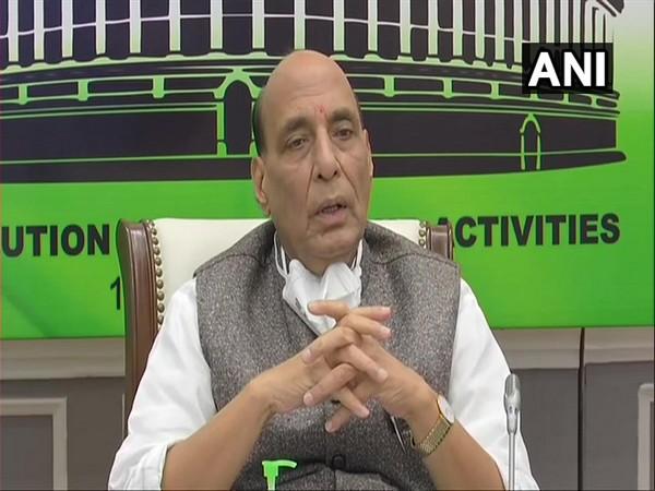 Constitution essential in building New India, teaches discipline, unity in diversity: Rajnath Singh