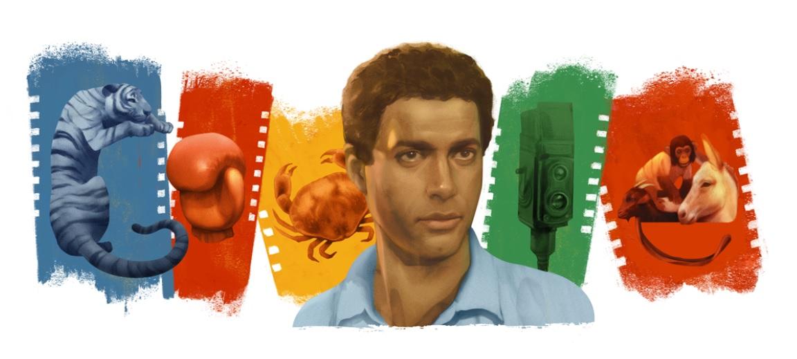 Ahmed Zaki: Google doodle on Egyptian film actor aka Black Tiger