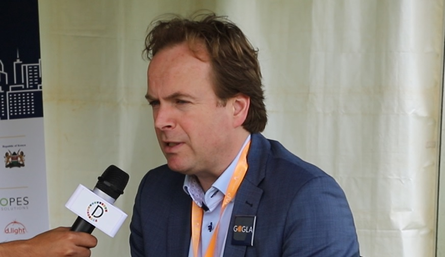 'Over 800mn people need to be linked with off-grid solar products,' says Koen Peters