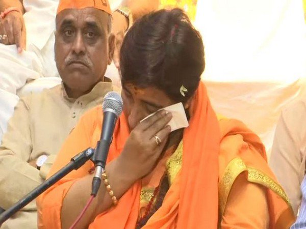 AAP condemns Pragya Thakur's Godse remark, questions BJP's silence
