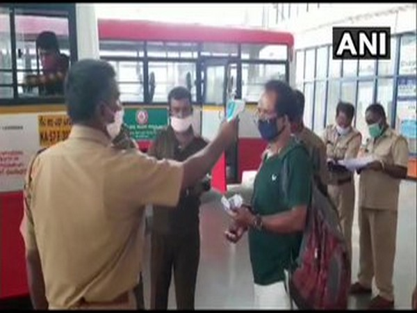 Bus services resume in Karnataka amid lockdown 4.0