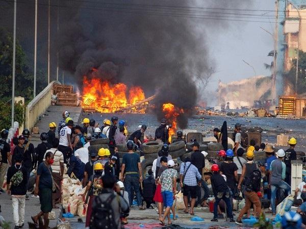 Thailand concerned at Myanmar violence