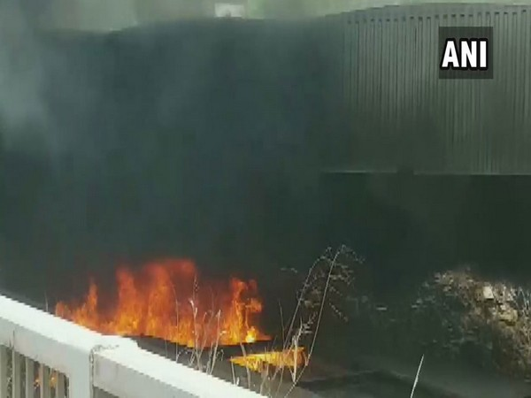 Massive fire breaks out near Justice Tower in Iraqi Kurdistan's Erbil