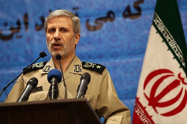 UPDATE 1-Iran's defence minister says Britain's seizure of oil tanker was threatening act