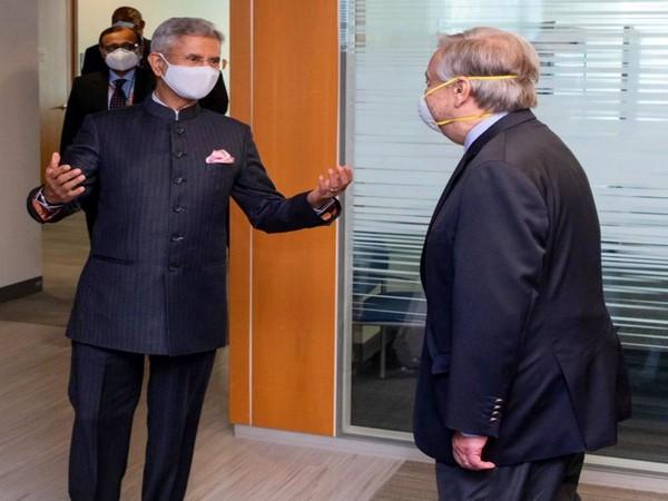 EAM Jaishankar congratulates Guterres on his re-appointment as UN chief