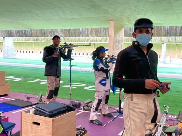 Tokyo Olympics: Indian shooting contingent begins training