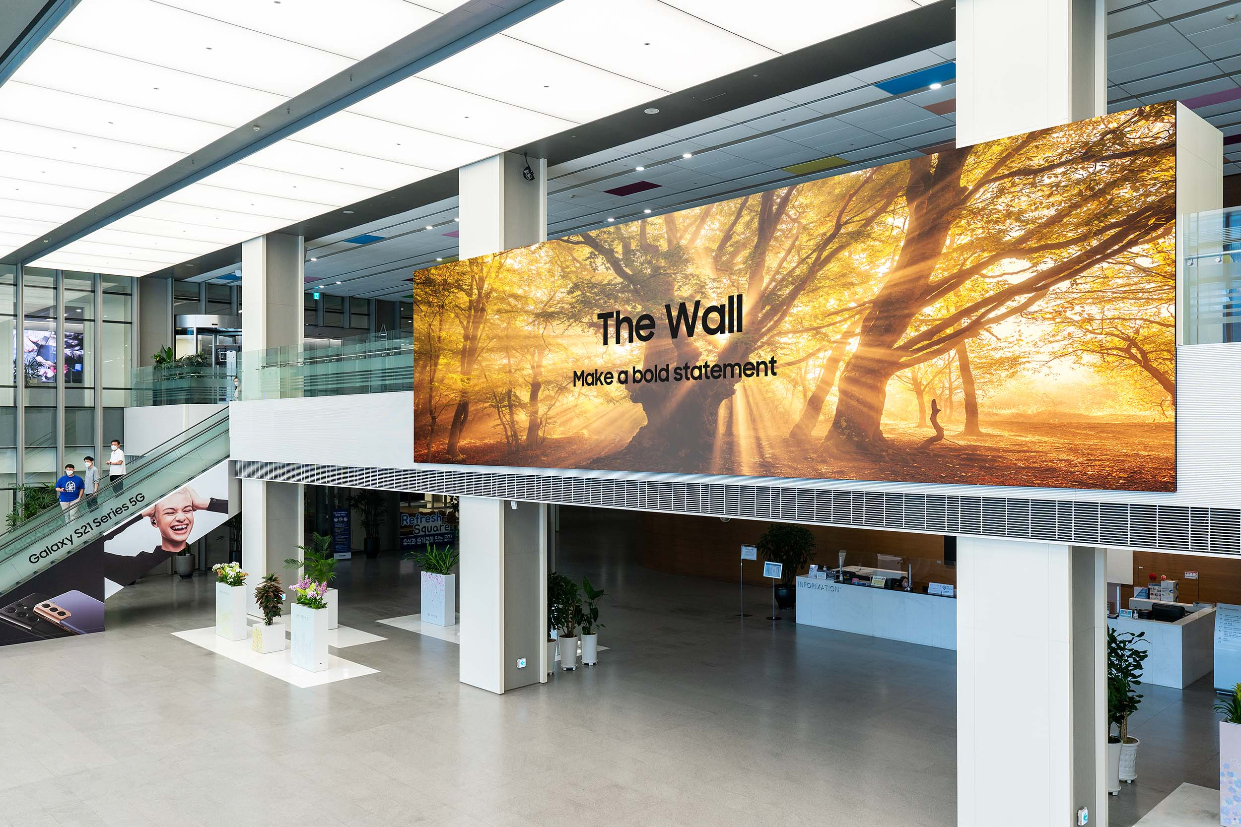 2021 The Wall, Samsung's most immersive and versatile display yet, now available globally