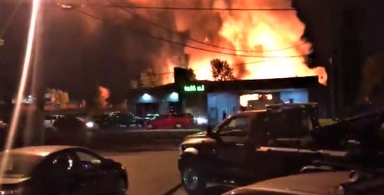 Watch: Huge fire breaks out at Oregon Pallet Company in Salem