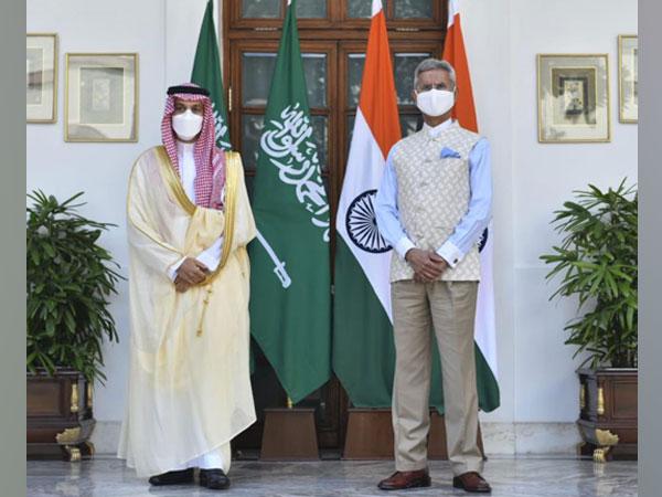 Jaishankar welcomes Saudi counterpart on his first-ever India visit