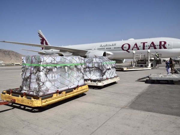 Qatar supports shipment of 8.7 MT WHO medical supplies to Kabul