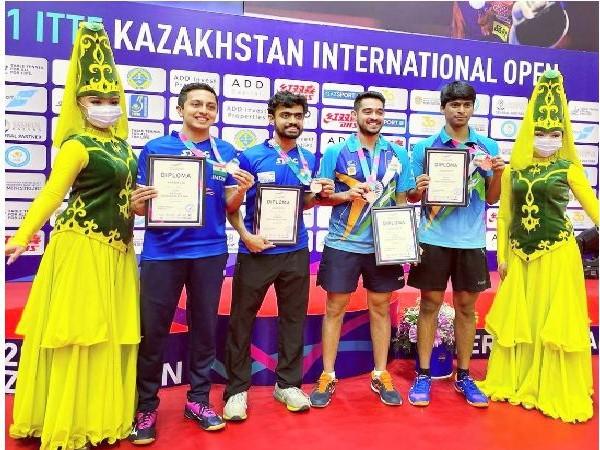 Indian paddlers Siddhesh-Mudit, Snehit-Sudhanshu win men's doubles bronze at Kazakhstan Int'l Open