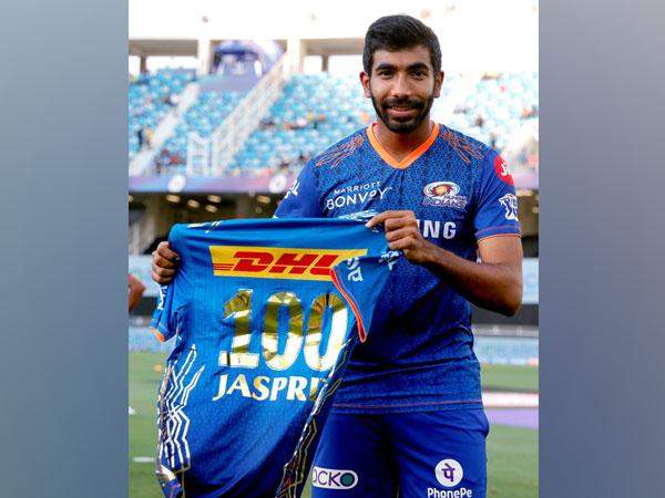IPL: Jasprit Bumrah dons Mumbai Indians jersey for 100th time