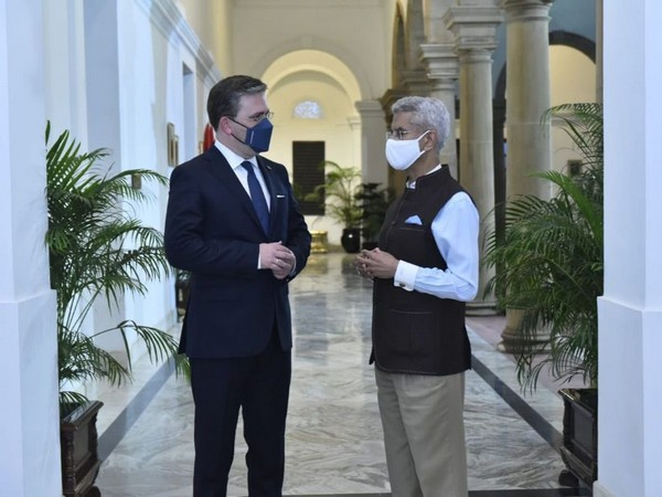 Jaishankar holds 'fruitful discussions' with Serbian counterpart