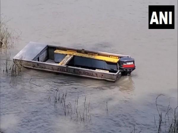 Haryana: 2 missing in boat accident in Yamuna river during 'Ganpati Visarjan'