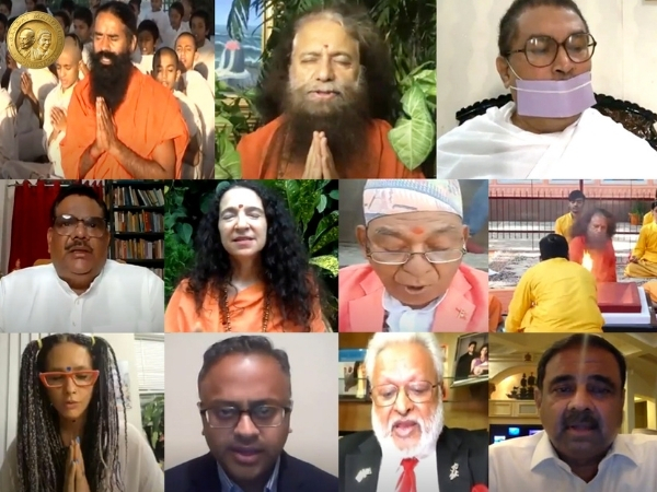 Global spiritual leaders hold prayer meeting for Donald Trump's speedy recovery hosted by Gandhi Mandela Foundation