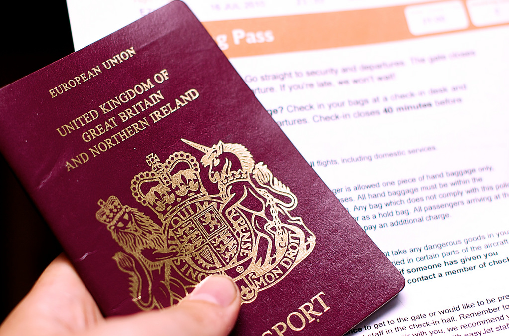 "Brexit happening: UK introduces passports without ""European Union"" label"