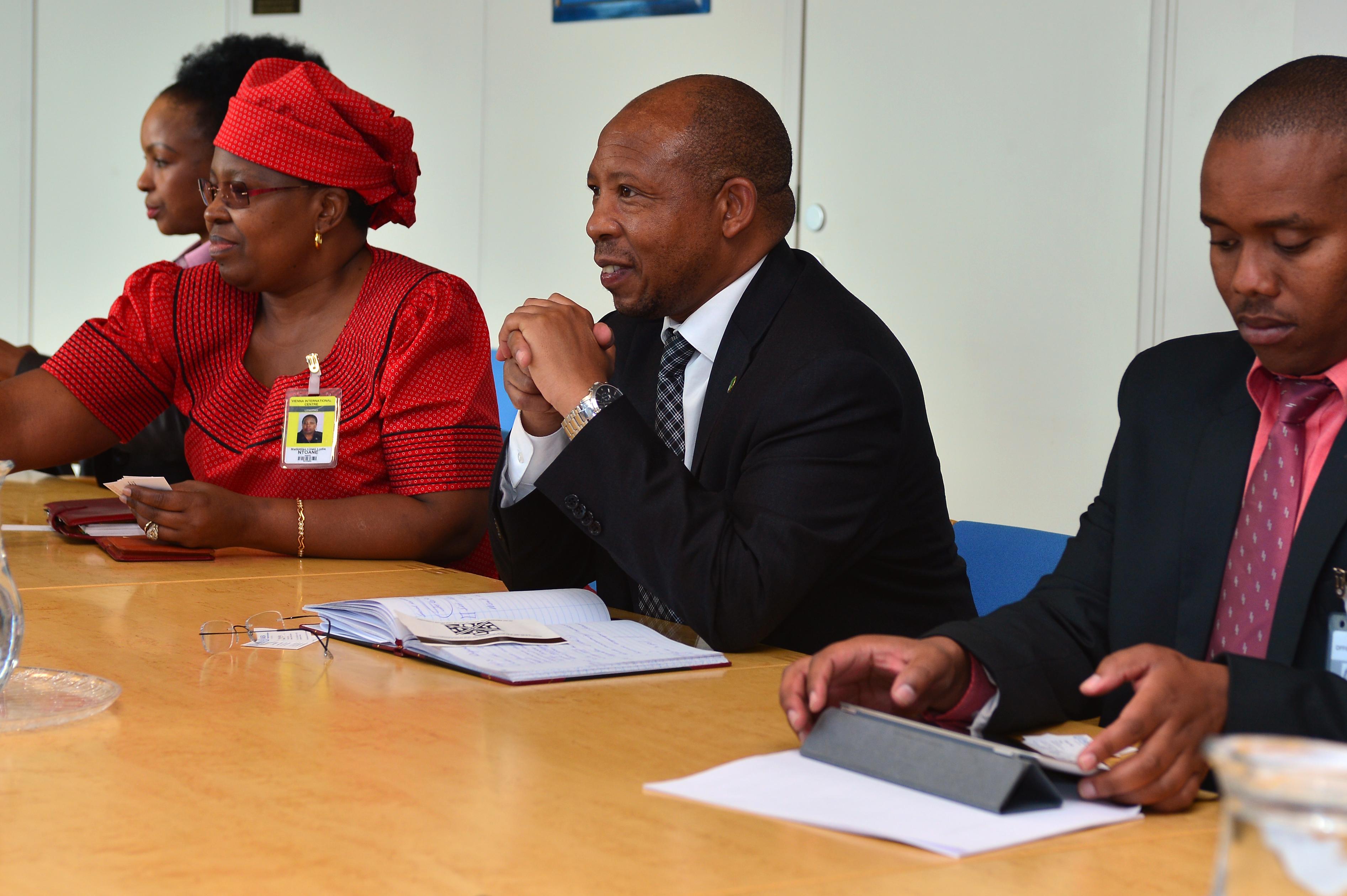 Lesotho's new Prime Minister Moeketsi Majoro sworn in