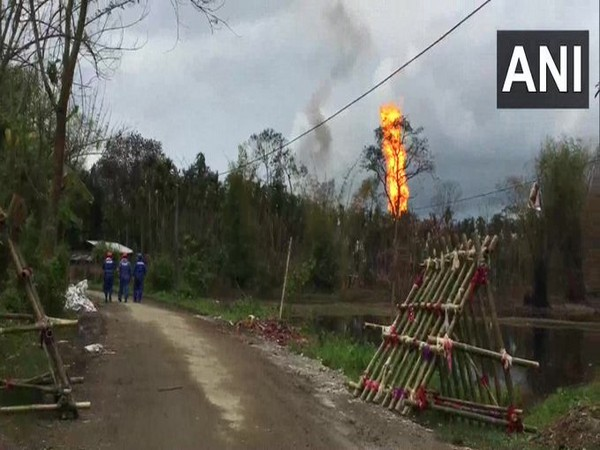 Fire continues to rage at gas well in Assam's Tinsukia