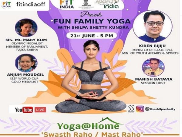 Shilpa Shetty to host live Yoga session with Kiren Rijiju on International Yoga Day