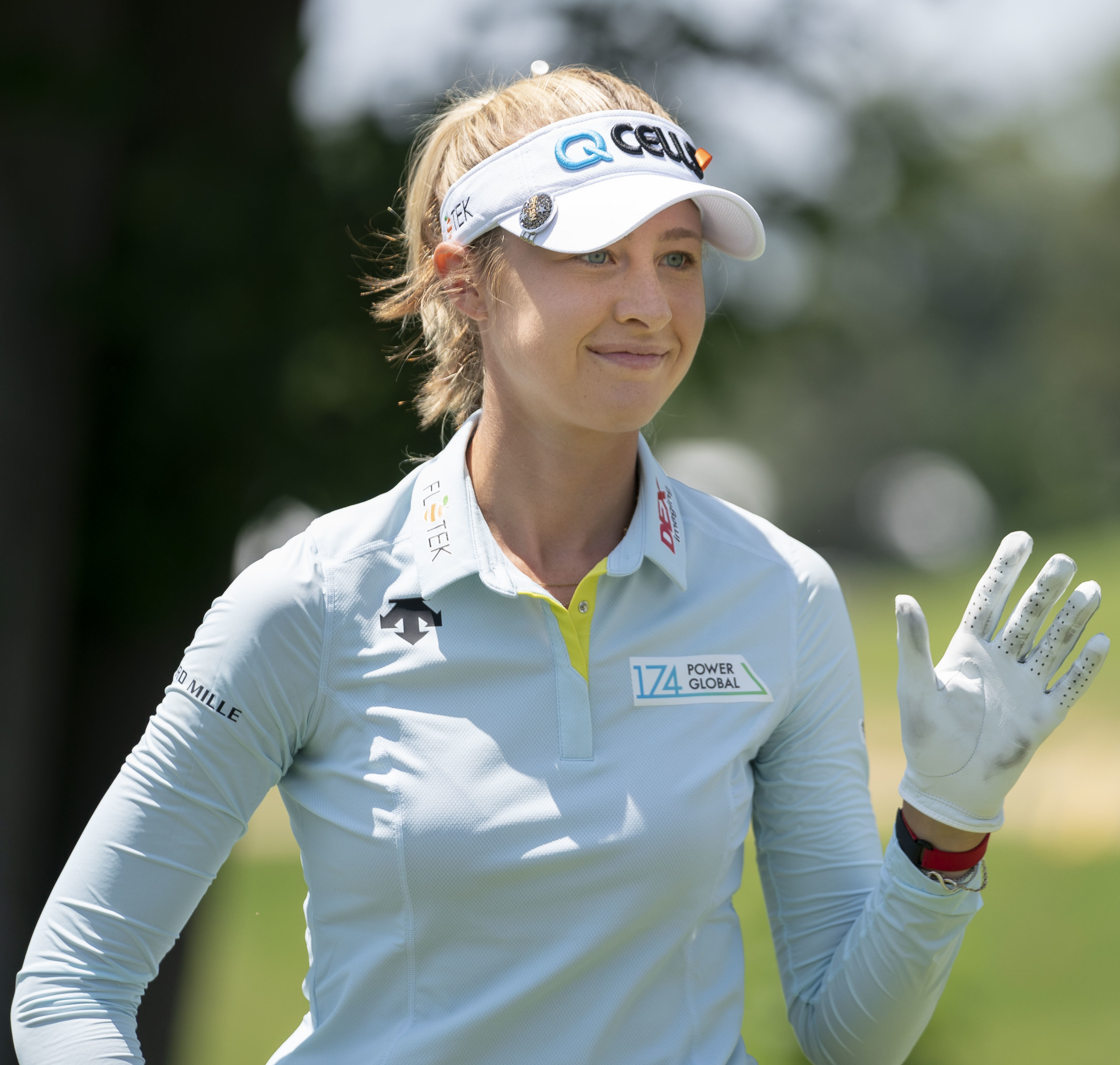 Nelly Korda shoots 62, takes 3-shot lead in Michigan