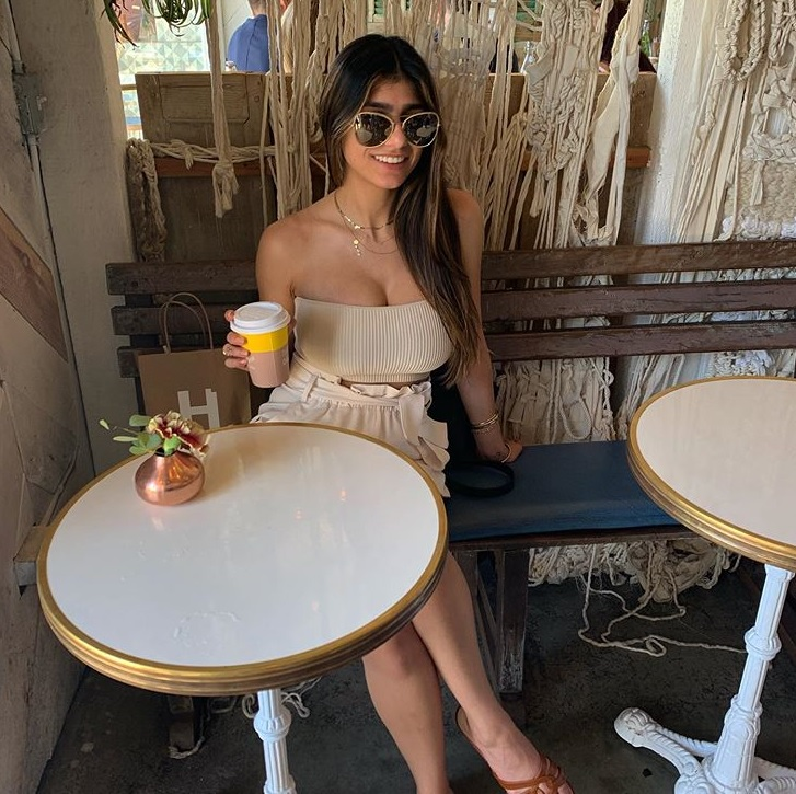 Mia Khalifa shares strapless cover pics on her Instagram
