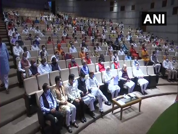 Monsoon session: BJP holds parliamentary party meet