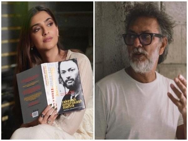 Sonam Kapoor unveils cover of Rakeysh Omprakash Mehra's debut book 'The Stranger In The Mirror'
